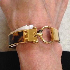 TALBOTS - Equestrian Link Bangle Bracelet - NWT